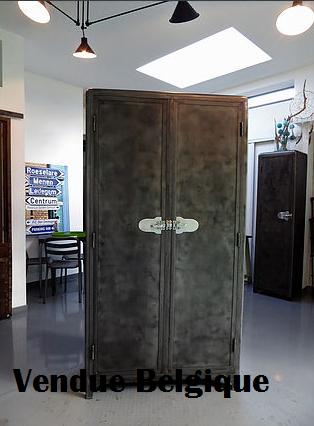 Armoire de cuisine an 50' en métal