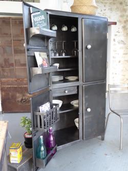 meuble en métal vintage - inspirationrec