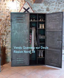 Armoire industrielle an 50' Dressing