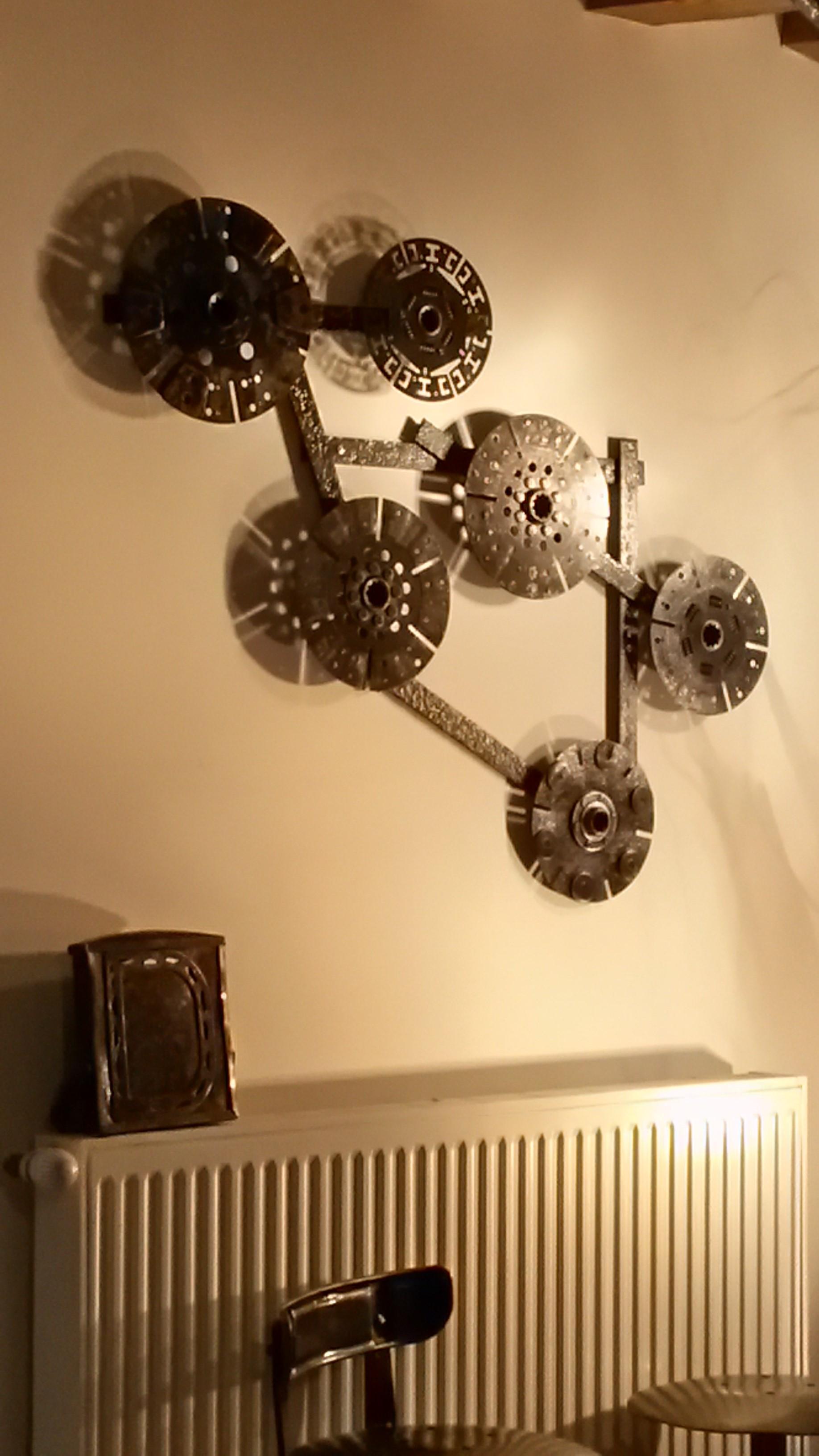 Sculpture industrielle N°1