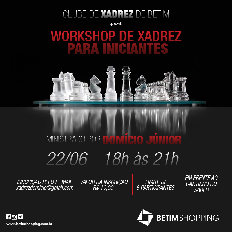 Workshop de Xadrez
