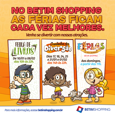 Férias Betim Shopping