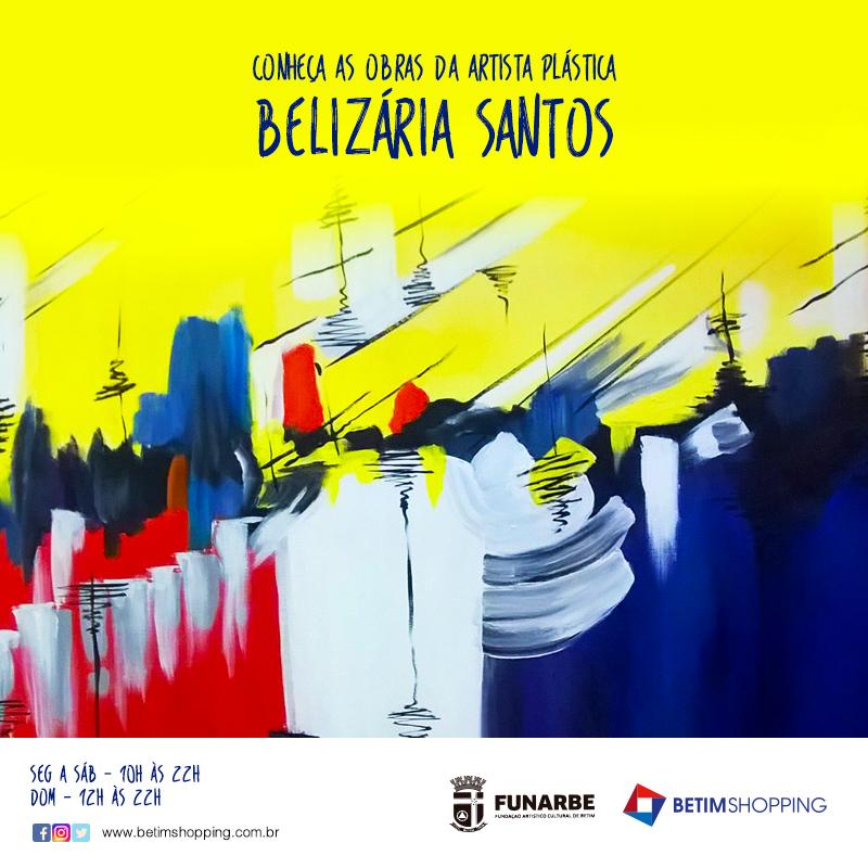 Exposição Belizária Santos