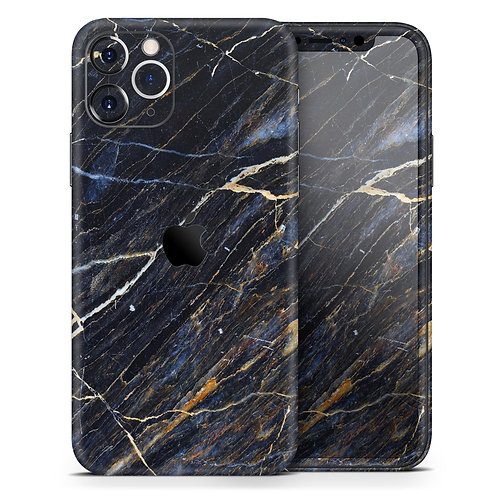 Dark Natural Marble Surface - Skin-Kit compatible with the Apple