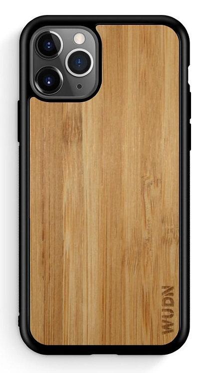 Slim Wooden Phone Case (Carmalized Bamboo)