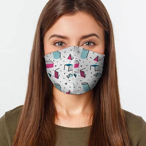 Geometric Shape  Face Cover