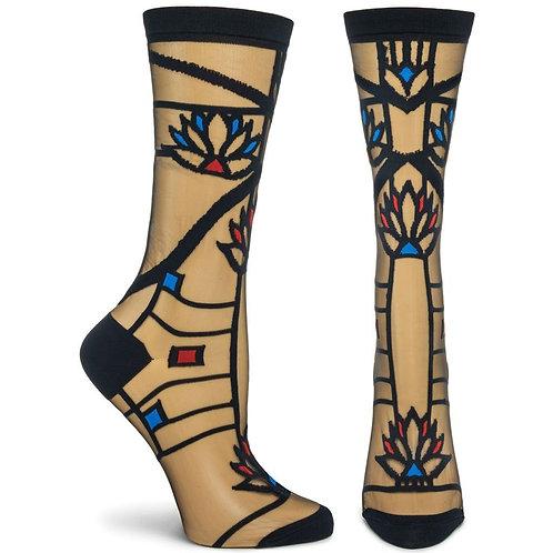 FLW - Waterlilies Sock