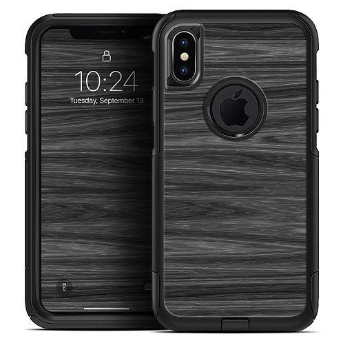 Dark Slate Wood - Skin Kit for the iPhone OtterBox Cases
