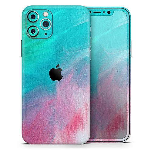 Pastel Marble Surface - Skin-Kit compatible with the Apple iPhone 12,
