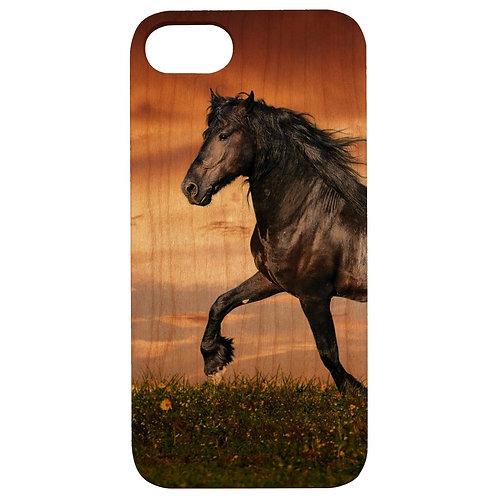 Black Horse - UV Color Printed
