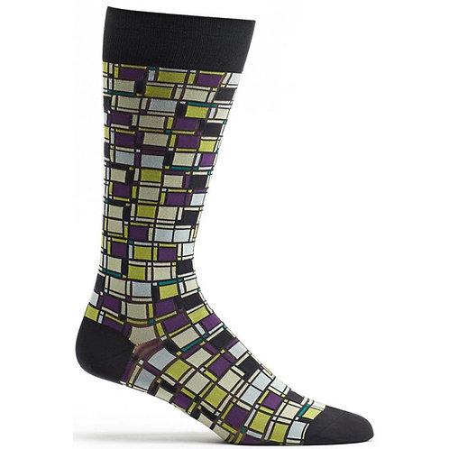 Cubist Composition Sock