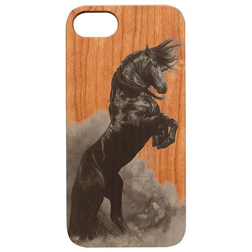 Horse Black - UV Color Printed