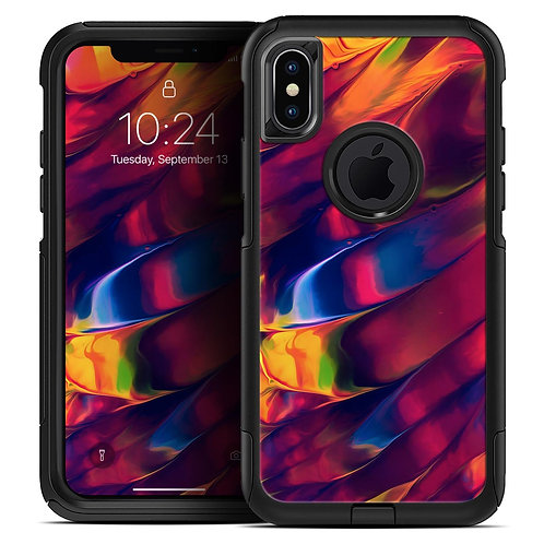 Blurred Abstract Flow V13 - Skin Kit for the iPhone OtterBox Cases