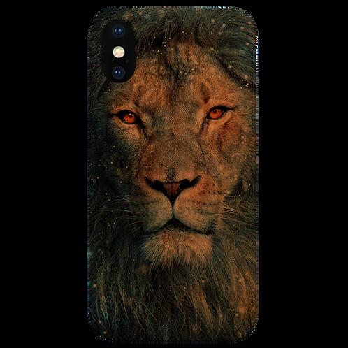 Lion Face Snow - UV Color Printed