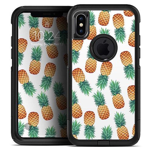 Summer Pineapple Seamless v1 - Skin Kit for the iPhone OtterBox Cases