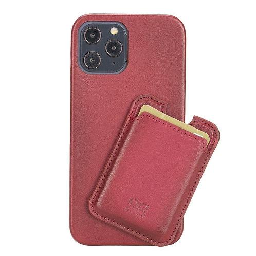 MagSafe Magnetic Card Holder for iPhone 12 Series - Vegetal Burnished