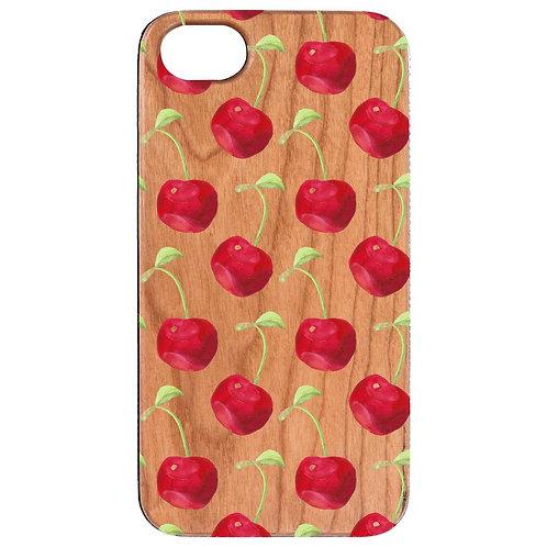 Cherry Pattern - UV Color Printed