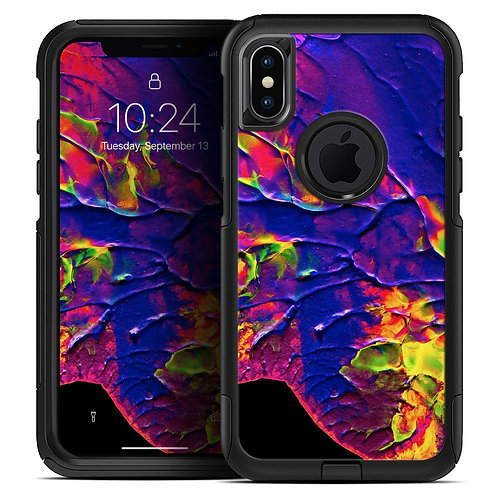Liquid Abstract Paint V16 - Skin Kit for the iPhone OtterBox Cases