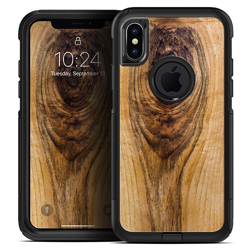 Raw Wood Planks V10 - Skin Kit for the iPhone OtterBox Cases