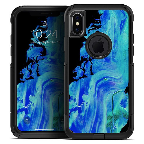 Liquid Abstract Paint V46 - Skin Kit for the iPhone OtterBox Cases