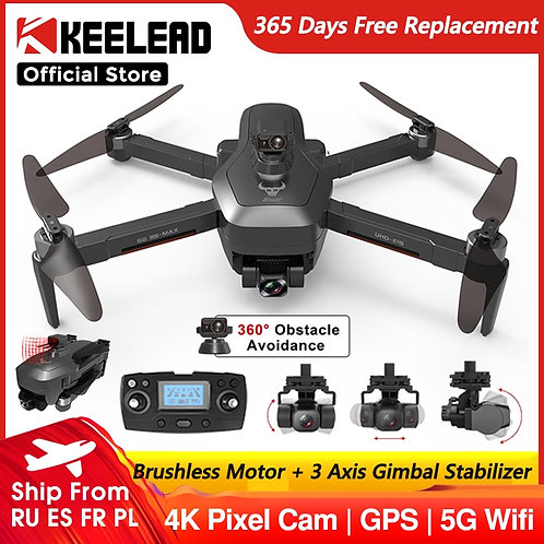 SG906 MAX Drone With Camera 4K HD Pro 2 or 3 Axis Gimbal Stabilizer Quadcopter