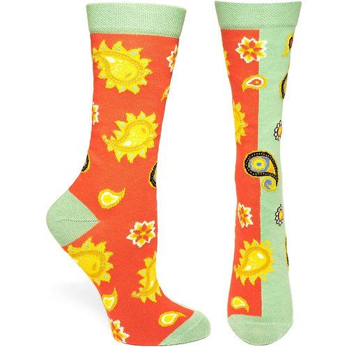 Paisley Persona Sock