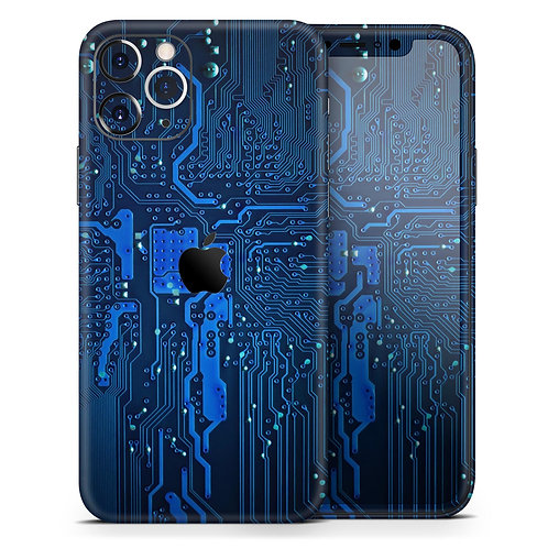 Electric Circuit Board - Skin-Kit compatible with the Apple iPhone 12,