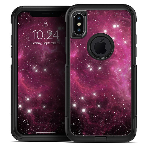 Glowing Pink Nebula - Skin Kit for the iPhone OtterBox Cases