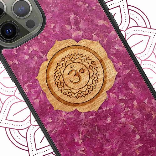 Chakra Yoga Symbol - Crown Chakra - Roses