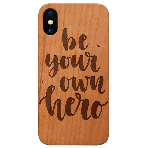 Be Your Own Hero - Engraved