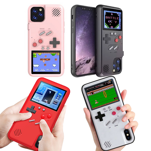 Playable Retro Nostalgic Gaming 36 Color Games iPhone Case