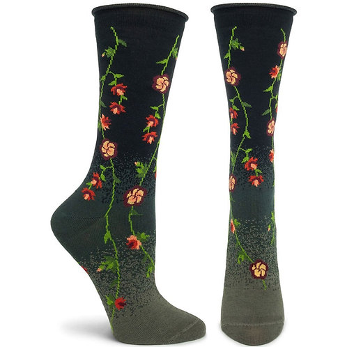 Tibetan Flowers Sock