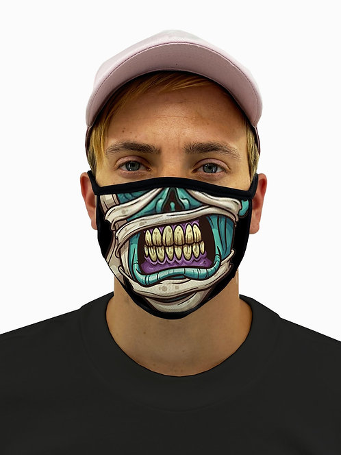 The Mummy Face Mask With Filter Pocket