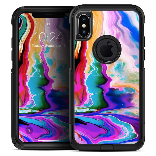Blurred Abstract Flow V33 - Skin Kit for the iPhone OtterBox Cases