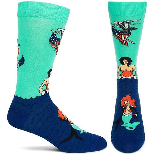 Mermade in America Sock