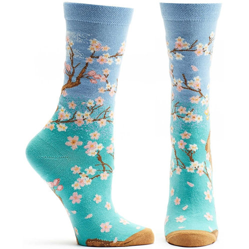 Cherry Blossom Sock