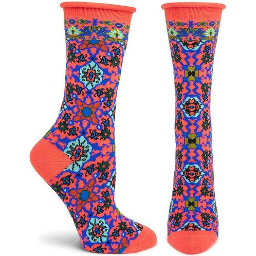 Ornate Allure Sock