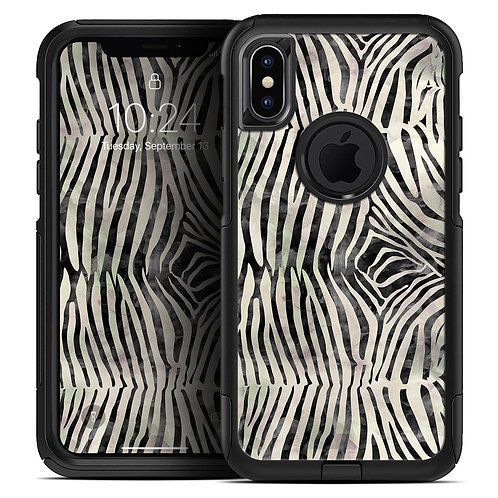 Watercolor Zebra Pattern - Skin Kit for the iPhone OtterBox Cases