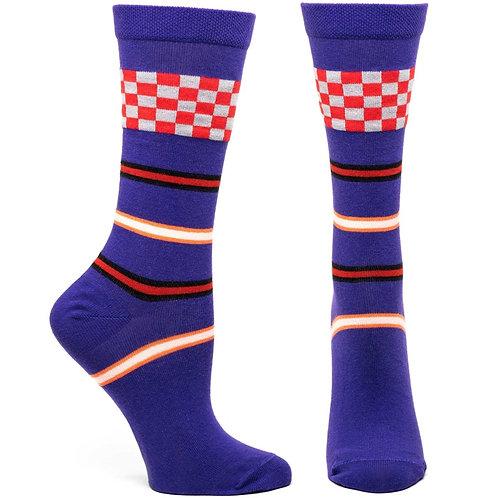 Racing Stripes Sock