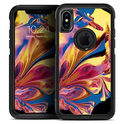 Liquid Abstract Paint V11 - Skin Kit for the iPhone OtterBox Cases