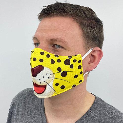 Leopard Cartoon Face Cover