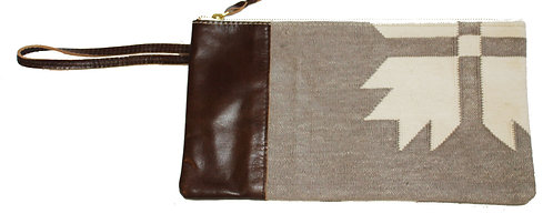 Snowflake Clutch with Wristlet