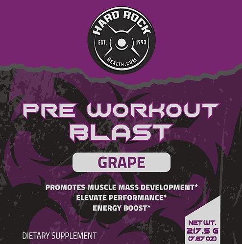 Hard Rock Health® Pre-Workout Blast Grape Flavor
