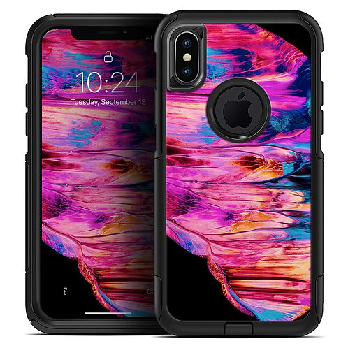 Liquid Abstract Paint V68 - Skin Kit for the iPhone OtterBox Cases