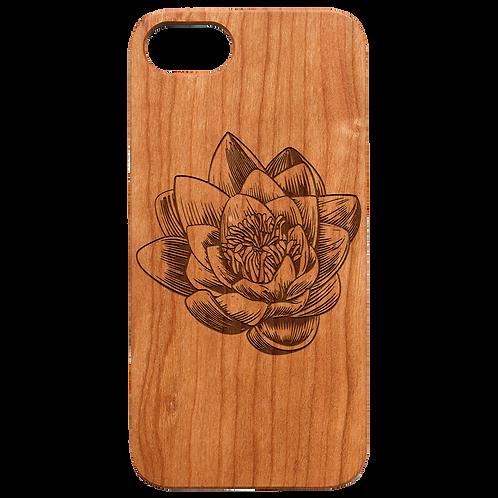 Lotus Flower - Engraved