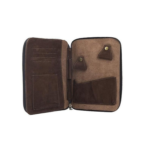 Expedition Travel Case in Distressed Walnut