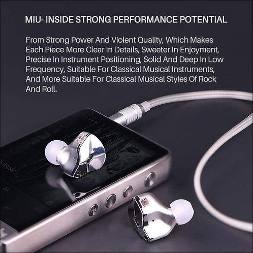 Dual Voice Coil Detachable Earbuds