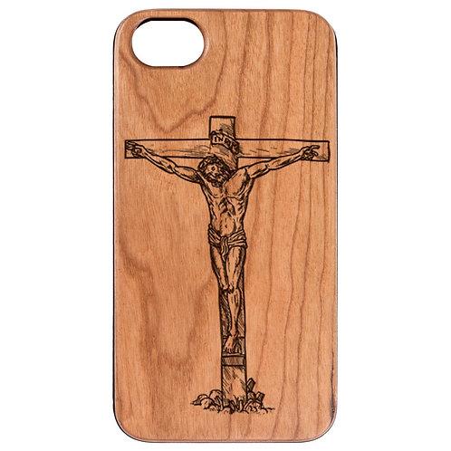 Jesus Cross - Engraved
