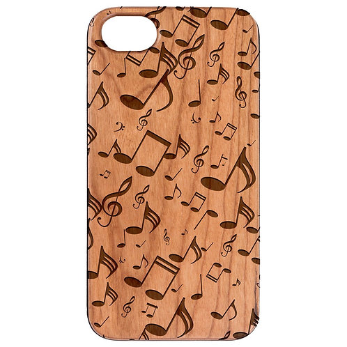 Music Note Pattern - Engraved