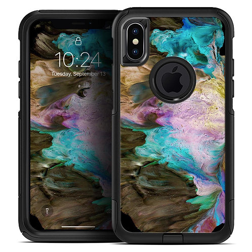 Liquid Abstract Paint V36 - Skin Kit for the iPhone OtterBox Cases